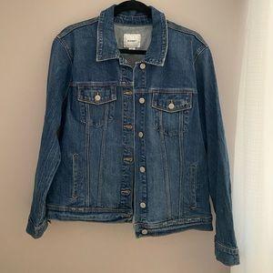 True Blue Denim Jacket- Old Navy stretch denim